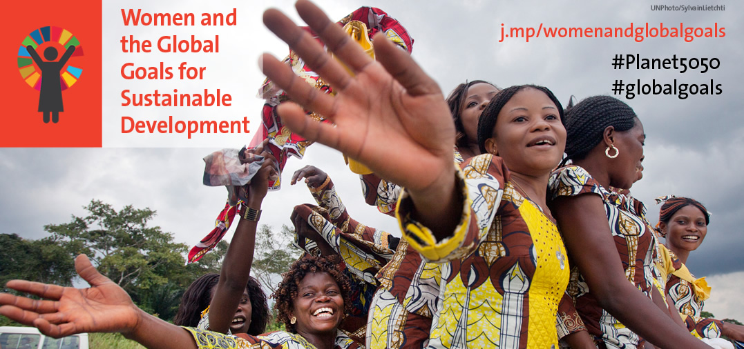 In focus: Women and the Sustainable Development Goals (SDGs)